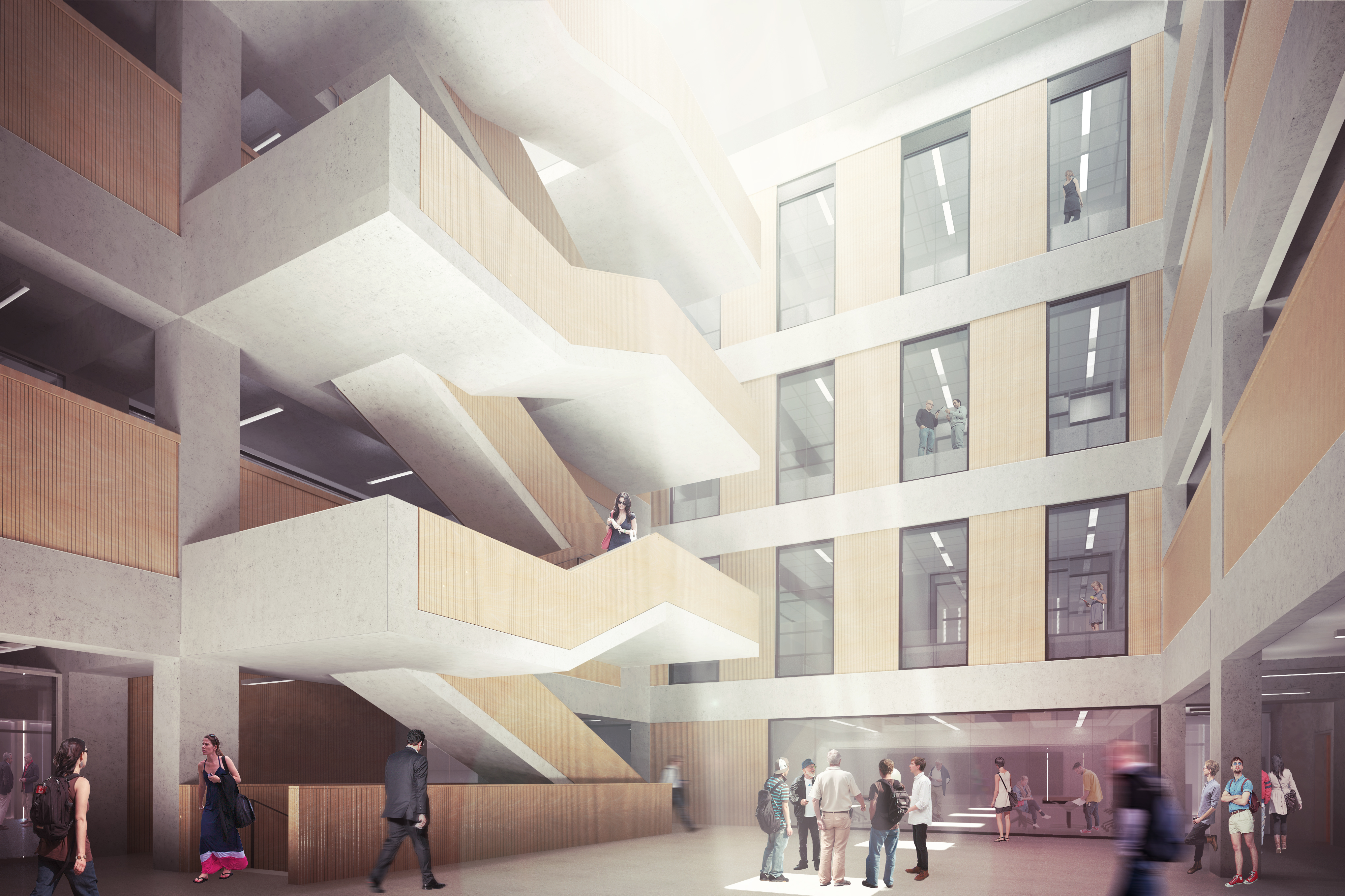 Toronto society of architectstsa building tours centre for Chair in engineering design university of toronto